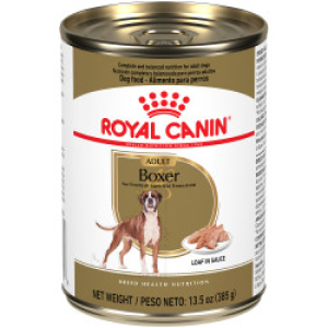 Royal Canin Boxer Adult Loaf in Sauce Canned Dog Food