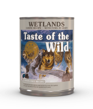 Taste of the Wild Wetlands Canine Formula with Fowl in Gravy