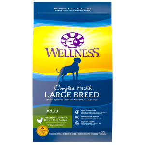 Wellness Complete Health Natural Large Breed Health Recipe Dry Dog Food