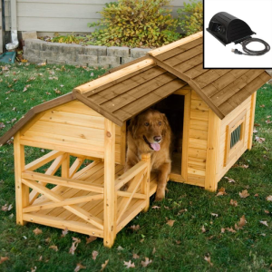 Wooden Barn Dog House for Large & Extra Large Dogs